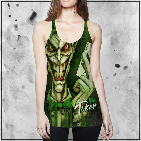 Toke the Raven - The Toker Racerback Tank Top