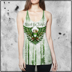 Toke the Raven - Weed the People Light Racerback Tank Top