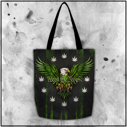 Toke the Raven - Weed the People Dark Tote Bag