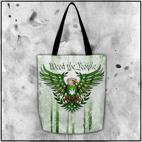 Toke the Raven - Weed the People Light Tote Bag
