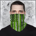 Toke the Raven - Weed Flag Neck Gaiter