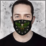 Toke the Raven - Weed the People Dark Face Mask