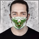 Toke the Raven - Weed the People Light Face mask