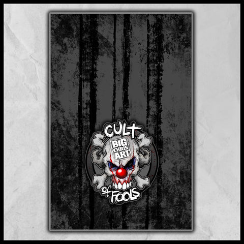 Cult of Fools Hand Towel (16x25)