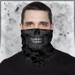 Tribe 22 - Dark Camo Skull Neck Gaiter