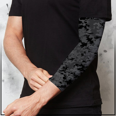 Tribe 22 - Camp Light Grey Compression Arm Sleeve