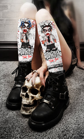 Twiztid - Freek Show Era 2000 Crew Socks