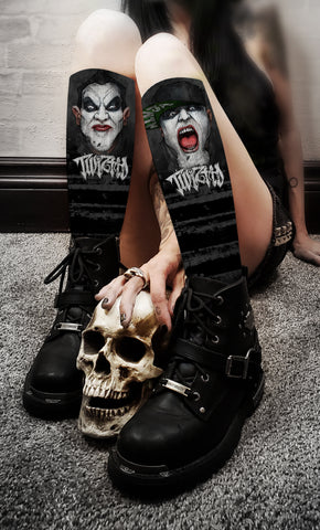 Twiztid - Madrox and Monoxide Crew Socks