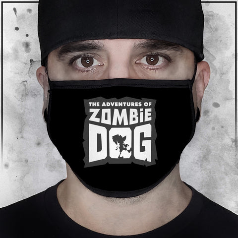 Zombie Dog Logo Face Mask