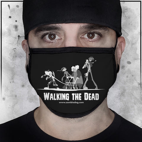 Zombie Dog - The Walking Dead Face Mask