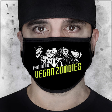 Zombie Dog - Fear Not The Vegan Face Mask
