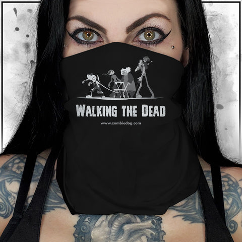 Zombie Dog - The Walking Dead Neck Gaiter