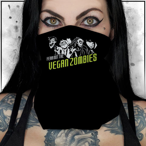 Zombie Dog - Fear Not the Vegan Zombies Neck Gaiter