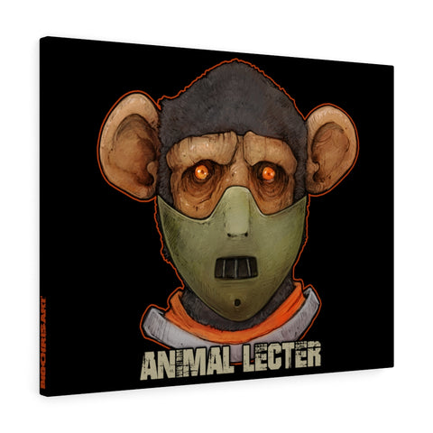 Cuddly Killers | Animal Lecter | Canvas Gallery Wraps