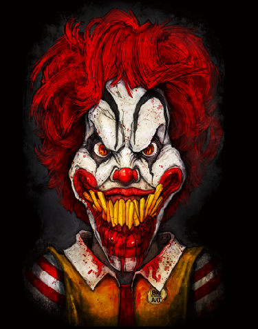 Ronald McDeath Canvas