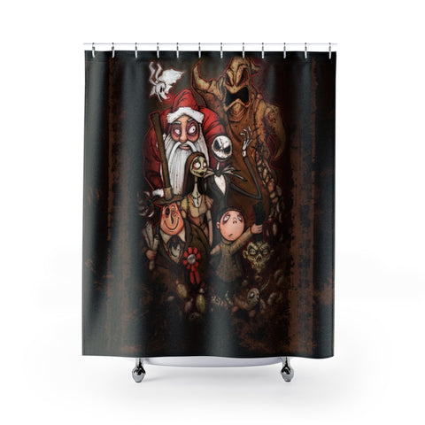 NBC | Nightmare before Christmas Cast | Shower Curtain