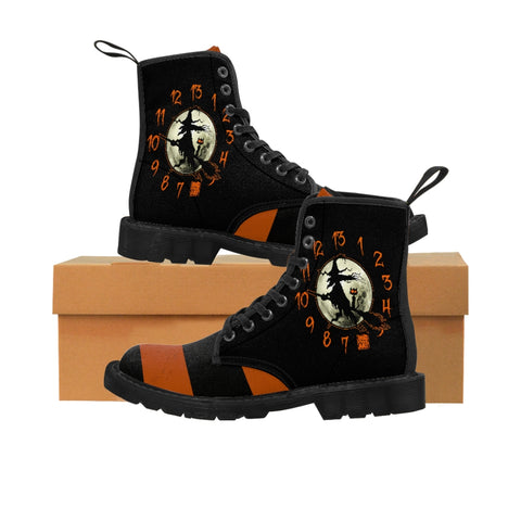 Cuddly Killers | The Witching Hour | Women's Canvas Boots