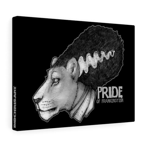 Cuddly Killers | Pride of Frankenstein | Canvas Gallery Wraps