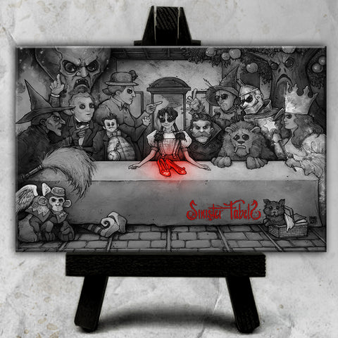 Canvas | Sinister Fables | The Wizard's Supper