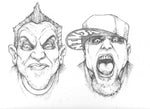 Original Art | Twiztid | 11x14 Original Pencil Art