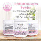 Lenogen Hydrolyzed Collagen Peptides with Hyaluronic Acid (Starter Kit)