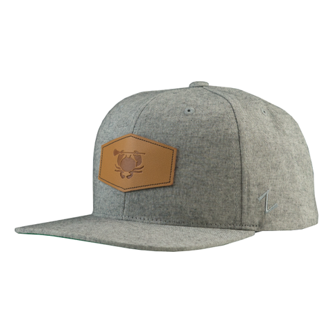 ECD Lax Leather Patch Snap Back