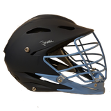 STX Rival Helmet - Full Painted Navy Blue with Carolina Blue (Large/XLarge)