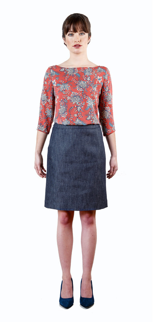 Hurston Denim Skirt