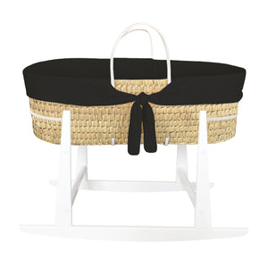 MOSES BASKET ROCKER | BLACK