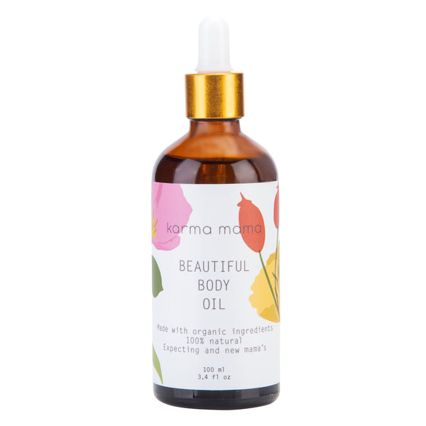 aceite corporal - beautiful body oil - pregnancy & motherhood