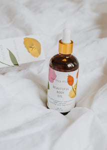 ACEITE CORPORAL | BEAUTIFUL BODY OIL | PREGNANCY & MOTHERHOOD
