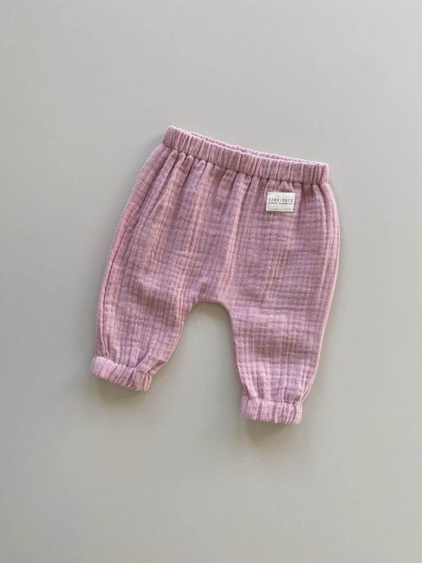 cosmos pants - soft pink
