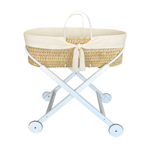 MOSES BASKET | WHISPER CREAM