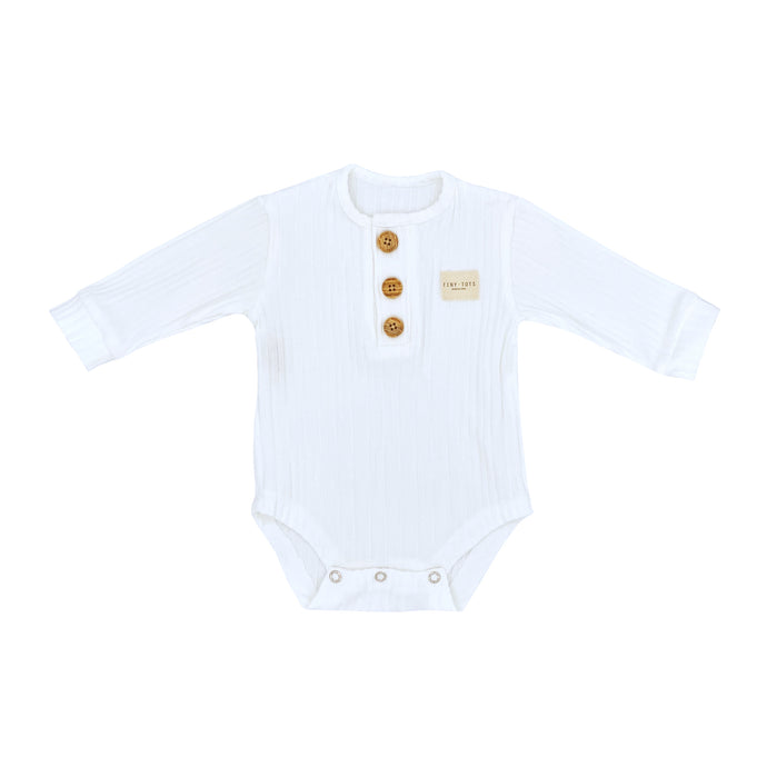JASMINE BODY LS | OPTIC WHITE