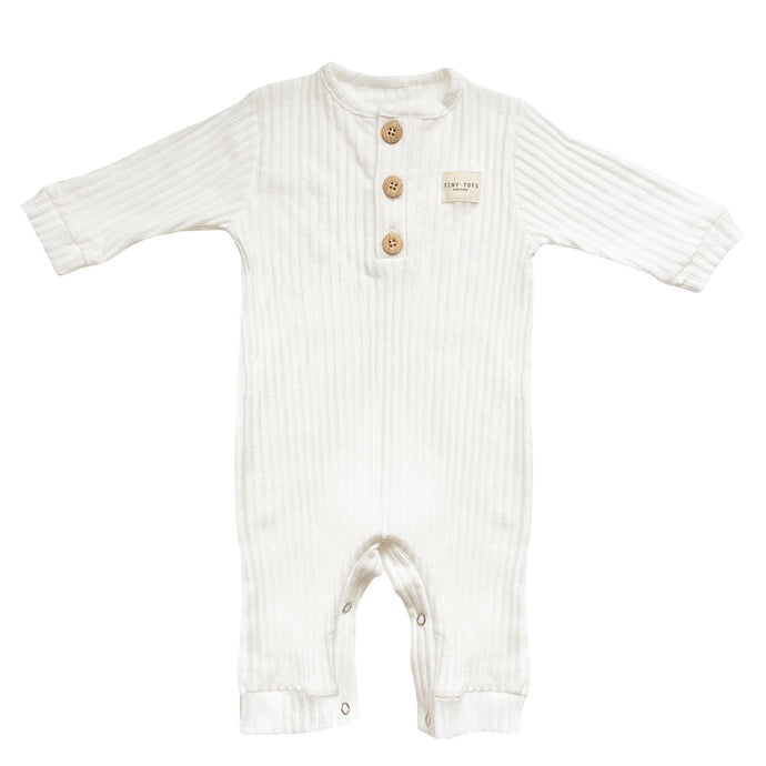 PAMPAS GRASS JUMPSUIT | OPTIC WHITE