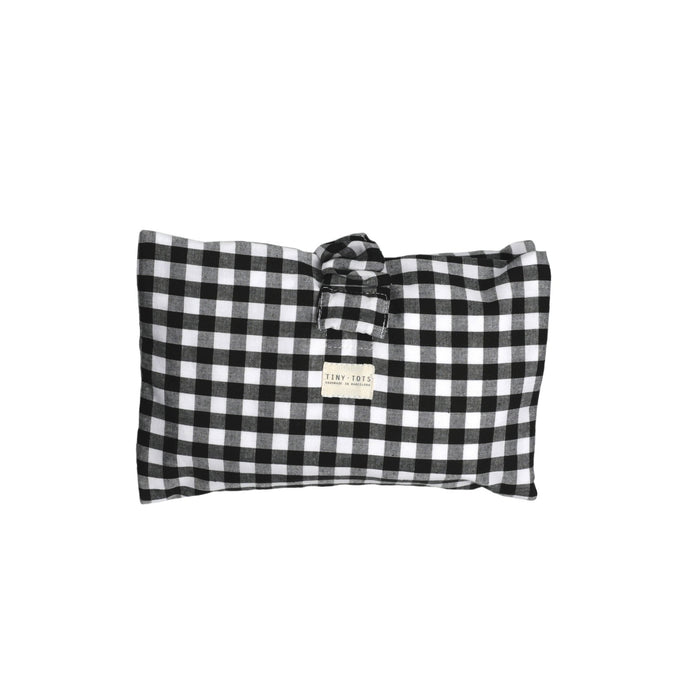 IVY NAPPY CHANGER | CHECKED BLACK