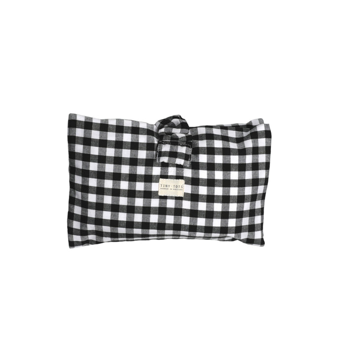 IVY DIAPER BAG | CHECKED BLACK