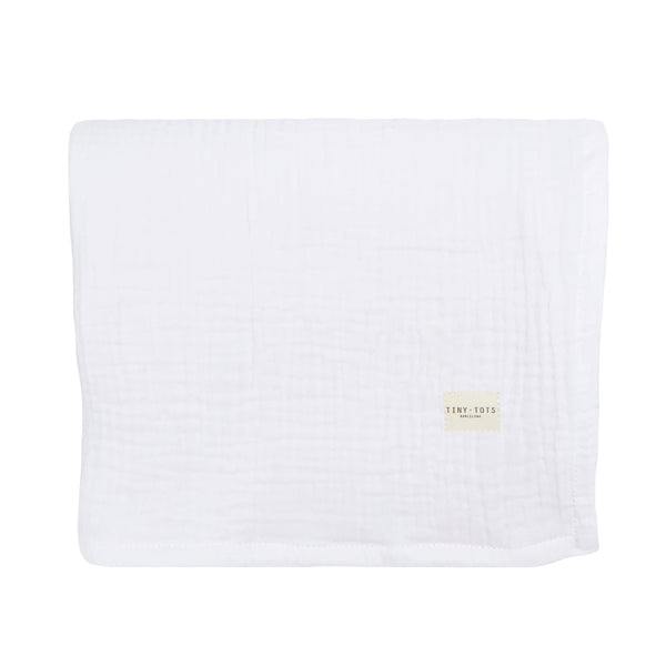 moss blanket xl - chalk white