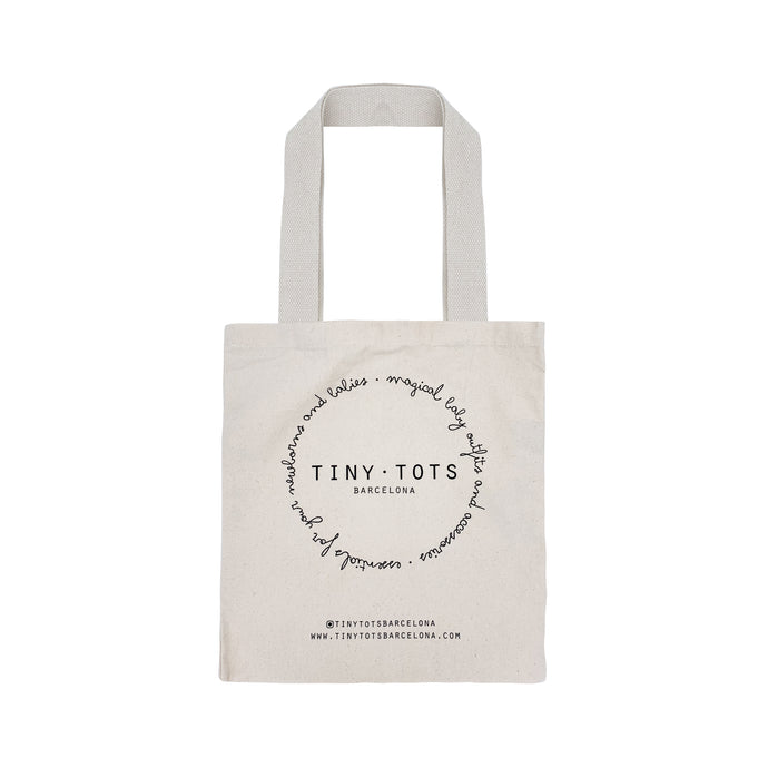 TINY TOTS BARCELONA BAG | NATURAL CANVAS