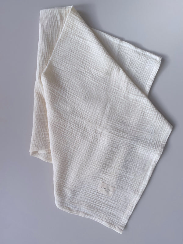 rosalie blanket - whisper cream