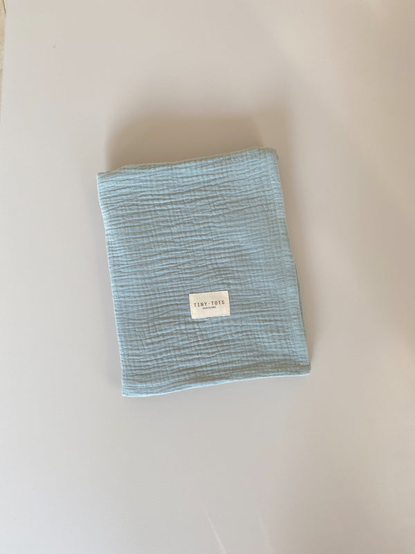 rosalie blanket - mint green