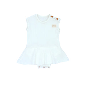 MARGUERITE DRESS | OPTIC WHITE