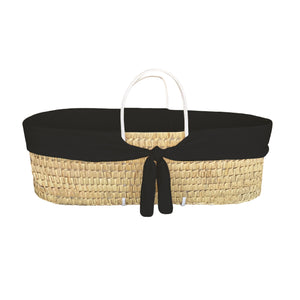 moses basket protector - cool black