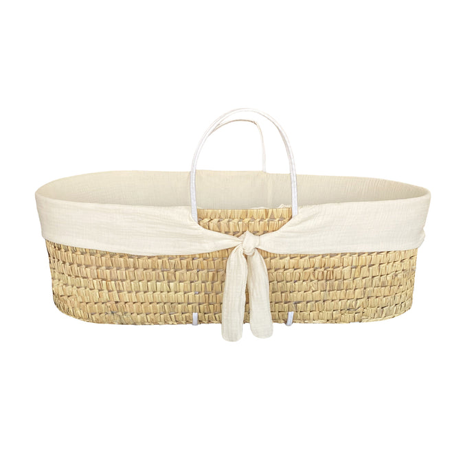 MOSES BASKET PROTECTOR | WHISPER CREAM