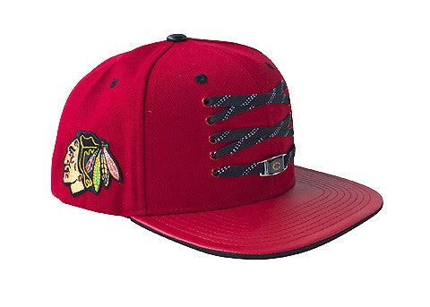Chicago Blackhawks 'Player' Red Snapback