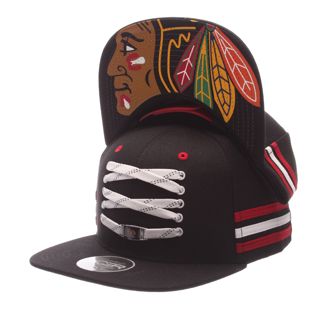 Chicago Blackhawks Black 'Locker Room' LTD Snapback