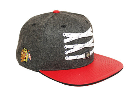 Chicago Blackhawks 'Checked' Snapback