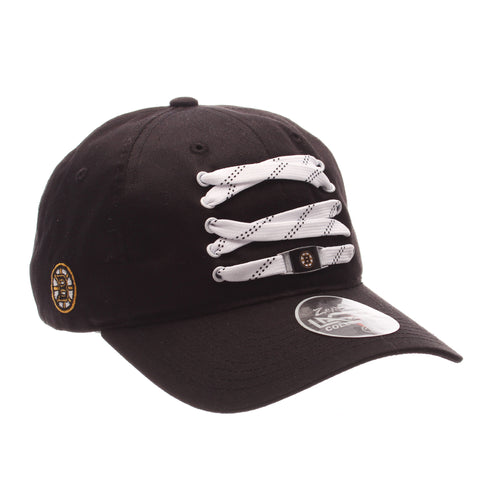 Boston Bruins Lacer Strapback