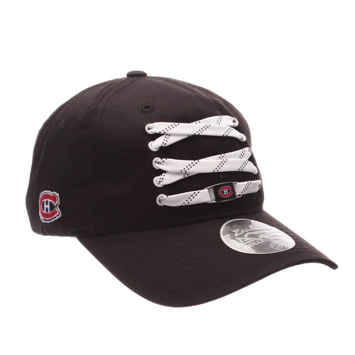 Montreal Canadiens Black Lacer Strapback