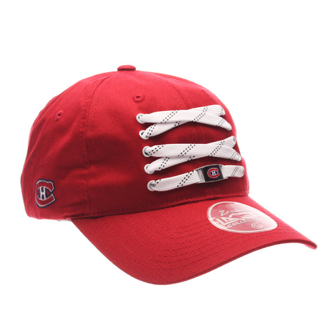 Montreal Canadiens Red Lacer Strapback